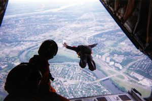 Skydiving - expanding your comfort zone