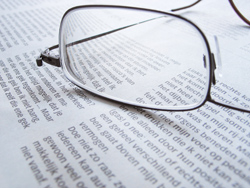 reading glasses – the first sign of ageing