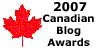 2007 Canadian Blog Awards