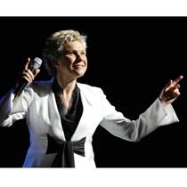 Canadian music legend Anne Murray in concert