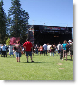 The World's Stage at Surrey's Fusion Festival