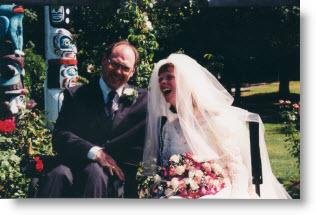 Darrell and Glenda married