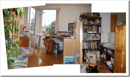 Glenda's messy office