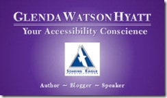 Author, Blogger and Speaker Glenda Watson Hyatt - Your Accessibility Conscience