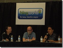 WordCamp Las Vegas' problogger panel with Chris Garrett, Darren Rowse and Jeremy Wright