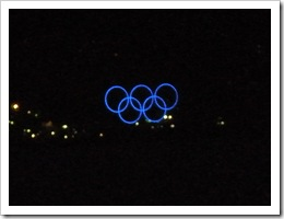 Olympic Rings on Coal Harbour