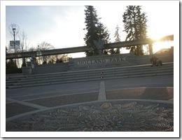 Holland Park's entrance