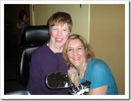Glenda Watson Hyatt and Pam Slim