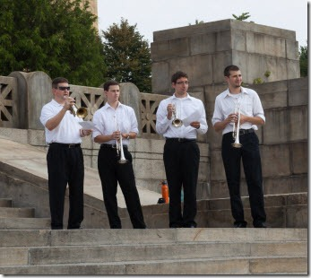 Rolling Trumpet Ensemble from Rowan University