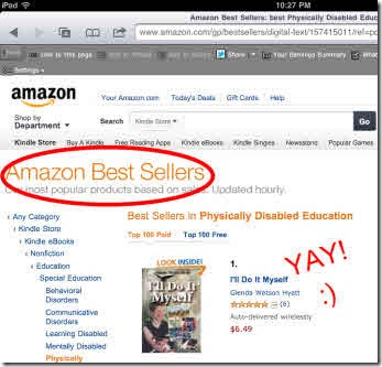 My book - an Amazon bestseller - YAY!