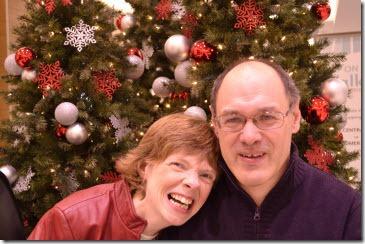 Glenda Watson Hyatt and Darrell Hyatt