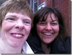 Glenda Watson Hyatt and Karen Putz