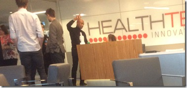 Montel Williams at the HealthTech Innovation Hub